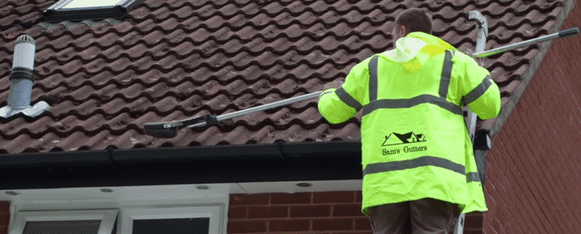 gutter cleaning service London