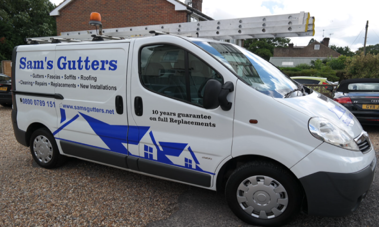 gutter cleaning north london