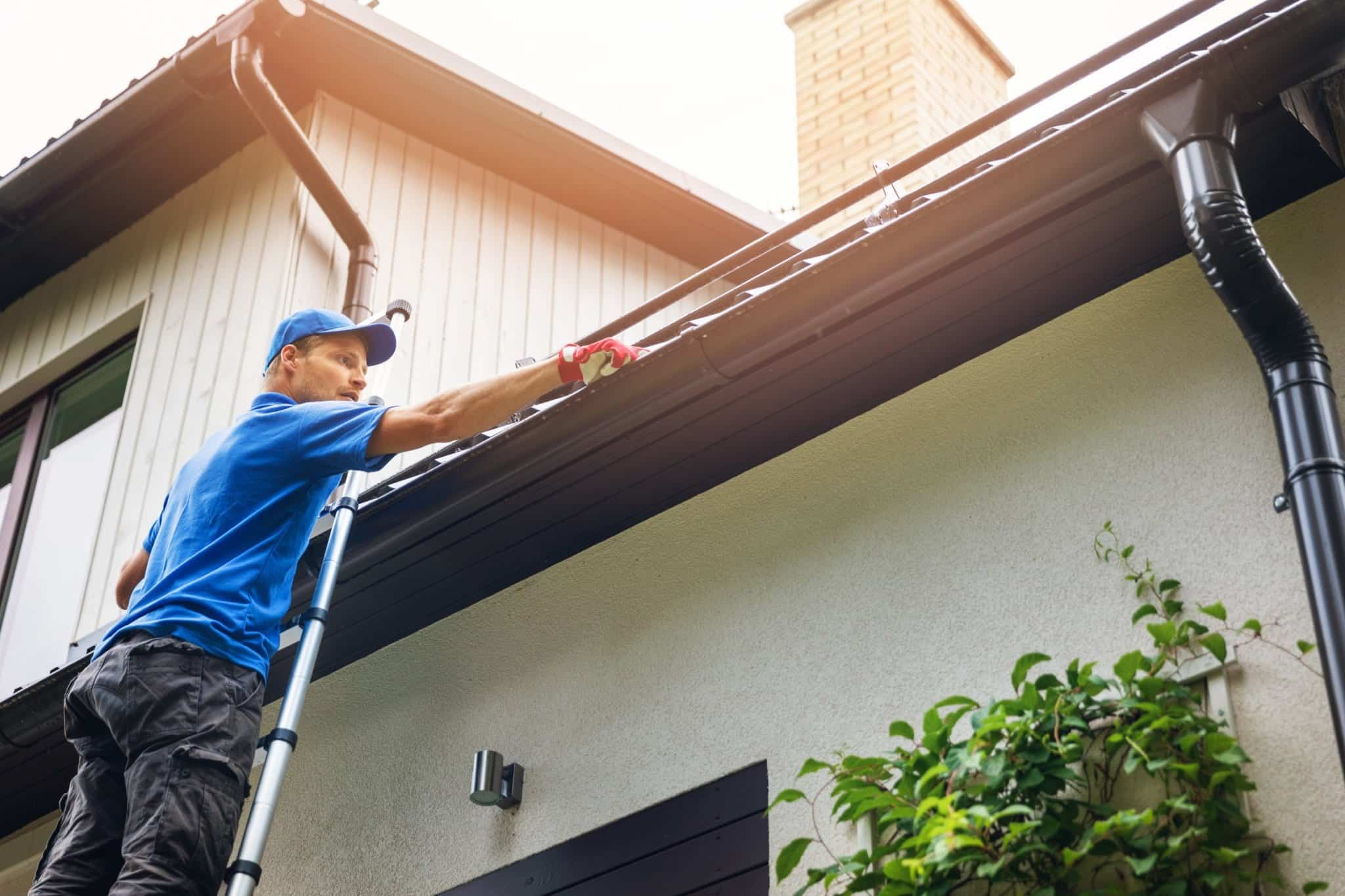 gutter cleaning and repair london