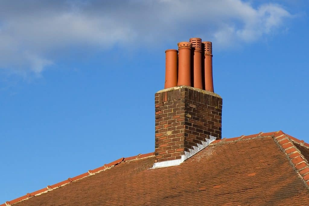 how to fix a roof leak around a chimney